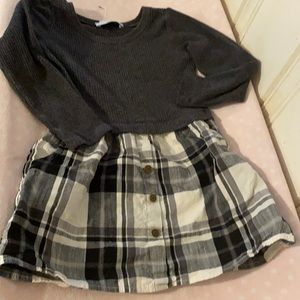 Adorable plaid dress Old Navy - small girls